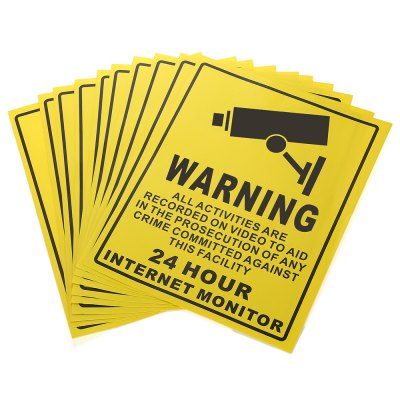 XSC Tip Warning Stickers Set ( 10PCS )Access Control<br>XSC Tip Warning Stickers Set ( 10PCS )<br><br>Brand: XSC<br>Package Contents: 10 x Tip Warning Sticker<br>Package size (L x W x H): 41.00 x 31.00 x 2.50 cm / 16.14 x 12.2 x 0.98 inches<br>Package weight: 0.126 kg<br>Product size (L x W x H): 20.00 x 25.00 x 0.10 cm / 7.87 x 9.84 x 0.04 inches<br>Product weight: 0.097 kg<br>Type (Personal Protective Equipment): Warning Tape