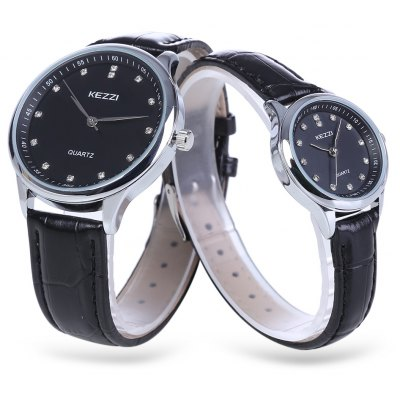 KEZZI K - 1664 Couple Watches
