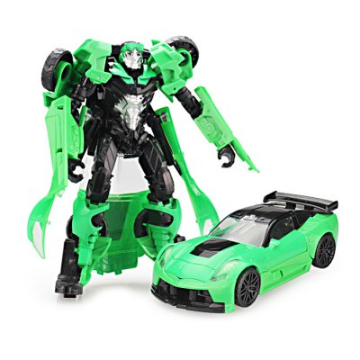 2 in 1 Transformable Transform ABS Robot Vehicle