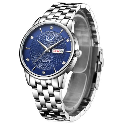 ANGELA BOS 8011G Rhinestone Scale Men Quartz WatchMens Watches<br>ANGELA BOS 8011G Rhinestone Scale Men Quartz Watch<br><br>Available Color: Black,Blue,Coffee,White<br>Band material: Stainless Steel<br>Band size: 20 x 2 cm / 7.87 x 0.79 inches<br>Case material: Stainless Steel<br>Clasp type: Folding clasp with safety<br>Dial size: 3.8 x 3.8 x 0.9 cm / 1.5 x 1.5 x 0.35 inches<br>Display type: Analog<br>Movement type: Quartz watch<br>Package Contents: 1 x ANGELA BOS 8011G Men Quartz Watch, 1 x Box<br>Package size (L x W x H): 10.50 x 7.50 x 7.00 cm / 4.13 x 2.95 x 2.76 inches<br>Package weight: 0.303 kg<br>Product size (L x W x H): 20.00 x 3.80 x 0.90 cm / 7.87 x 1.5 x 0.35 inches<br>Product weight: 0.110 kg<br>Shape of the dial: Round<br>Special features: Day, Date<br>Watch style: Business<br>Watches categories: Male table<br>Water resistance : 30 meters