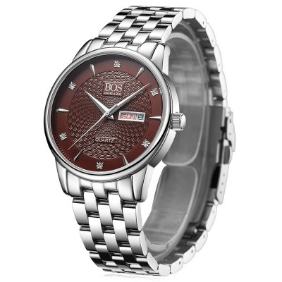 ANGELA BOS 8011G Rhinestone Scale Men Quartz WatchMens Watches<br>ANGELA BOS 8011G Rhinestone Scale Men Quartz Watch<br><br>Available Color: Black,Blue,Coffee,White<br>Band material: Stainless Steel, Stainless Steel<br>Band size: 20 x 2 cm / 7.87 x 0.79 inches, 20 x 2 cm / 7.87 x 0.79 inches<br>Case material: Stainless Steel<br>Clasp type: Folding clasp with safety, Folding clasp with safety<br>Dial size: 3.8 x 3.8 x 0.9 cm / 1.5 x 1.5 x 0.35 inches, 3.8 x 3.8 x 0.9 cm / 1.5 x 1.5 x 0.35 inches<br>Display type: Analog<br>Movement type: Quartz watch<br>Package Contents: 1 x ANGELA BOS 8011G Men Quartz Watch, 1 x Box, 1 x ANGELA BOS 8011G Men Quartz Watch, 1 x Box<br>Package size (L x W x H): 10.50 x 7.50 x 7.00 cm / 4.13 x 2.95 x 2.76 inches, 10.50 x 7.50 x 7.00 cm / 4.13 x 2.95 x 2.76 inches<br>Package weight: 0.303 kg, 0.303 kg<br>Product size (L x W x H): 20.00 x 3.80 x 0.90 cm / 7.87 x 1.5 x 0.35 inches, 20.00 x 3.80 x 0.90 cm / 7.87 x 1.5 x 0.35 inches<br>Product weight: 0.110 kg, 0.110 kg<br>Shape of the dial: Round<br>Special features: Date, Date, Day, Day<br>Watch style: Business<br>Watches categories: Male table<br>Water resistance : 30 meters, 30 meters