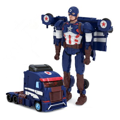Robot Transform Vehicle Puzzle ABS Toy