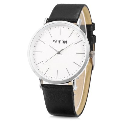FEIFAN F100 - 1G Concise Nail Scale Men Quartz Watch