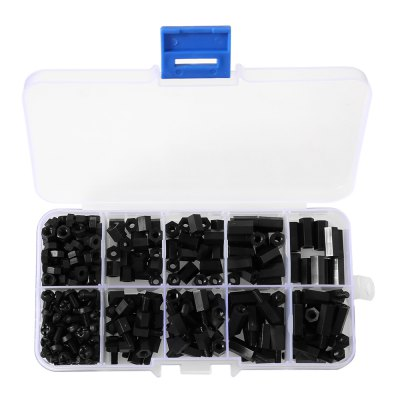 M3 Nylon Screw Set for DIYDIY Parts &amp; Components<br>M3 Nylon Screw Set for DIY<br><br>Type: Electric Components<br>Product weight: 0.072 kg<br>Package weight: 0.095 kg<br>Product Size(L x W x H): 13.00 x 6.50 x 2.50 cm / 5.12 x 2.56 x 0.98 inches<br>Package Size(L x W x H): 14.00 x 8.00 x 4.00 cm / 5.51 x 3.15 x 1.57 inches<br>Package Contents: 1 x M3 Nylon Screw Set
