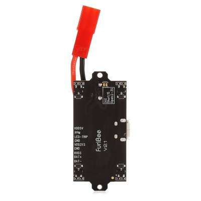 FuriBee V2.1 F3 EVO Brushed Flight ControllerFlight Controller<br>FuriBee V2.1 F3 EVO Brushed Flight Controller<br><br>Brand: FuriBee<br>Flight Controller Type: F3<br>Package Contents: 1 x F3 Flight Controller<br>Package size (L x W x H): 8.00 x 6.00 x 5.00 cm / 3.15 x 2.36 x 1.97 inches<br>Package weight: 0.014 kg<br>Product size (L x W x H): 4.60 x 2.00 x 1.10 cm / 1.81 x 0.79 x 0.43 inches<br>Product weight: 0.005 kg<br>Type: Flight Controller