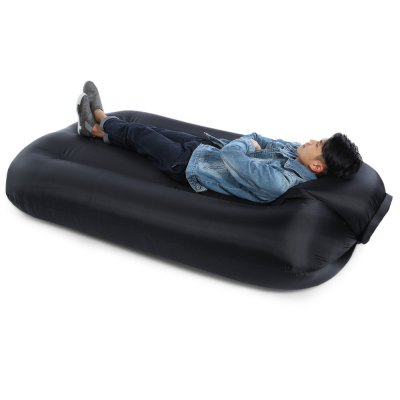 Portable 250kg Loading Nylon Fast Inflatable Bed SofaHammock and Sleeping Bags<br>Portable 250kg Loading Nylon Fast Inflatable Bed Sofa<br><br>Best Use: Backpacking,Camping,Noon break,Travel<br>Color: Black,Blue,Green,Purple<br>Features: Comfortable, Water Resistant, Ultralight, Durable, Easy to Carry<br>Material: Nylon<br>Maximum Load Bearing: 250kg<br>Package Contents: 1 x Portable Inflatable Bed, 1 x Storage Bag<br>Package Dimension: 32.00 x 20.00 x 17.00 cm / 12.6 x 7.87 x 6.69 inches<br>Package weight: 1.2380 kg<br>Product Dimension: 200.00 x 95.00 x 30.00 cm / 78.74 x 37.4 x 11.81 inches<br>Product weight: 1.1680 kg<br>Suitable for: 1-2 Persons