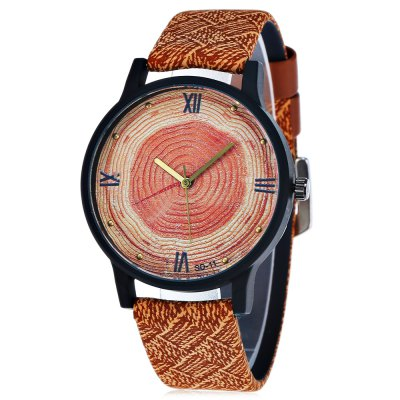 FEIFAN SD - 11 Tree-ring Pattern Dial Unisex Quartz Watch
