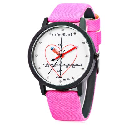 FEIFAN SD - 13 Rhinestone Scale Lady Quartz Watch