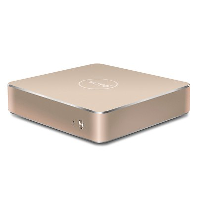 VOYO V1 VMac Mini PCMini PC<br>VOYO V1 VMac Mini PC<br><br>5G WiFi: No<br>Audio format: WMA, AC-3, APE, DTS, FLAC, MP3, OGG, WAV<br>Bluetooth: Unsupport<br>Brand: Voyo<br>Core: Quad Core<br>CPU: Apollo Lake N3450<br>Decoder Format: H.263, H.264<br>GPU: Intel HD Graphic<br>HDMI Version: 1.4<br>Interface: RJ45, 3.5mm Audio, DC Power Port, USB3.0, TF card, Mini HDMI Female<br>Language: Multi-language<br>Model: V1 VMac<br>Other Functions: 3D Video, ISO Files, PAL, 3D Games<br>Package Contents: 1 x VOYO V1 VMac Mini PC, 1 x HDMI Cable, 1 x Power Adapter, 1 x English Manual<br>Package size (L x W x H): 30.00 x 25.00 x 3.70 cm / 11.81 x 9.84 x 1.46 inches<br>Package weight: 0.7200 kg<br>Photo Format: BMP, GIF, JPG, PNG<br>Power Comsumption: 12W<br>Power Supply: Charge Adapter<br>Power Type: External Power Adapter Mode<br>Processor: Apollo Lake N3450<br>Product size (L x W x H): 12.00 x 12.00 x 2.80 cm / 4.72 x 4.72 x 1.1 inches<br>Product weight: 0.4000 kg<br>RAM: 4G RAM<br>RAM Type: DDR3L<br>Remote Controller Battery: 2 x AAA Battery ( not included )<br>RJ45 Port Speed: 1000M<br>ROM: 64G ROM<br>Support 5.1 Surround Sound Output: Yes<br>System: Windows 10<br>System Bit: 64Bit<br>Type: Mini PC<br>Video format: WMV, VC-1, RMVB, MVC, MPEG2, MPEG-1, MPEG, H.264, H.263<br>WiFi Chip: Out-cell