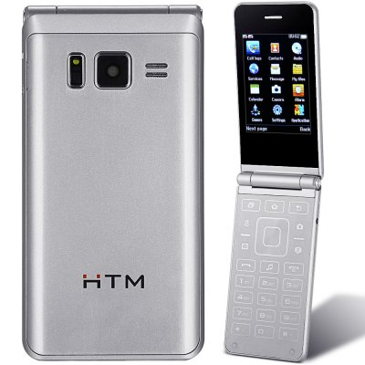HTM G2016 2.8 inch Quad Band Flip Unlocked Phone