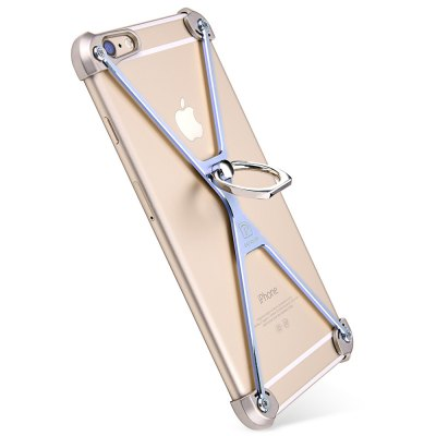 OATSBASF Frame Bumper CaseiPhone Cases/Covers<br>OATSBASF Frame Bumper Case<br><br>Brand: OATSBASF<br>Color: Black,Blue,Golden,Silver<br>Compatible for Apple: iPhone 6, iPhone 6S<br>Features: Anti-knock, Bumper Frame, Cases with Stand<br>Material: Aluminium Alloy<br>Package Contents: 1 x Frame Bumper, 1 x Screwdriver, 4 x Spare Screw, 1 x Chinese Manual<br>Package size (L x W x H): 19.00 x 11.50 x 2.80 cm / 7.48 x 4.53 x 1.1 inches<br>Package weight: 0.075 kg<br>Product size (L x W x H): 14.00 x 6.90 x 1.50 cm / 5.51 x 2.72 x 0.59 inches<br>Product weight: 0.019 kg<br>Style: Modern, Cool