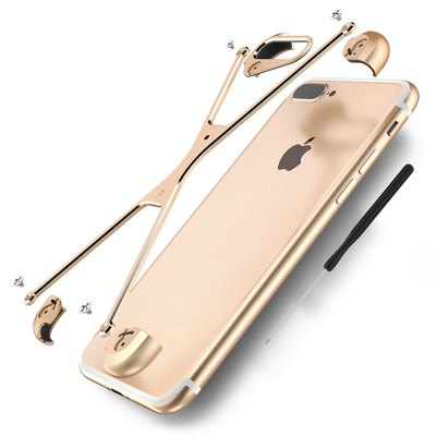 OATSBASF Protective Frame CaseiPhone Cases/Covers<br>OATSBASF Protective Frame Case<br><br>Brand: OATSBASF<br>Color: Black,Blue,Golden,Silver<br>Compatible for Apple: iPhone 7 Plus<br>Features: Anti-knock, Bumper Frame<br>Material: Aluminium Alloy<br>Package Contents: 1 x Frame Bumper, 1 x Screwdriver, 4 x Spare Screw, 1 x Chinese Manual<br>Package size (L x W x H): 19.00 x 11.50 x 2.80 cm / 7.48 x 4.53 x 1.1 inches<br>Package weight: 0.071 kg<br>Product size (L x W x H): 16.00 x 8.00 x 1.50 cm / 6.3 x 3.15 x 0.59 inches<br>Product weight: 0.014 kg<br>Style: Cool, Modern