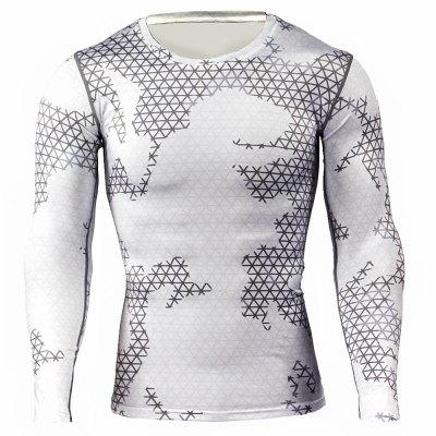 Long Sleeve Tattoo T ShirtsWeight Lifting Clothes<br>Long Sleeve Tattoo T Shirts<br><br>Color: Black,White<br>Features: Breathable, High elasticity, Quick Dry<br>Gender: Men<br>Material: Polyester<br>Package Content: 1 x T-shirt<br>Package size: 36.00 x 24.00 x 2.00 cm / 14.17 x 9.45 x 0.79 inches<br>Package weight: 0.230 kg<br>Product weight: 0.180 kg<br>Size: 2XL,3XL,L,M,XL<br>Types: Long Sleeves