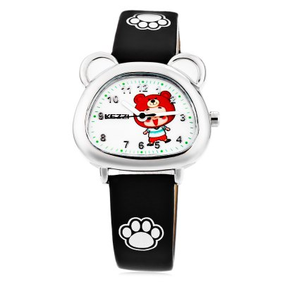KEZZI K - 1610 Kid Quartz WatchKids Watches<br>KEZZI K - 1610 Kid Quartz Watch<br><br>Available Color: Black,Blue,Pink,Purple,White<br>Band material: PU<br>Band size: 20.8 x 1.4 cm / 8.19 x 0.55 inches<br>Brand: Kezzi<br>Case material: Alloy<br>Clasp type: Pin buckle<br>Dial size: 3 x 2.3 x 0.6 cm / 1.18 x 0.91 x 0.24 inches<br>Display type: Analog<br>Movement type: Quartz watch<br>Package Contents: 1 x KEZZI K - 1610 Kid Quartz Watch<br>Package size (L x W x H): 21.80 x 4.00 x 1.60 cm / 8.58 x 1.57 x 0.63 inches<br>Package weight: 0.060 kg<br>Product size (L x W x H): 20.80 x 3.00 x 0.60 cm / 8.19 x 1.18 x 0.24 inches<br>Product weight: 0.020 kg<br>Shape of the dial: Irregular<br>Watch style: Fashion, Lovely<br>Watches categories: Children table<br>Wearable length: 14.4 - 18.6 cm / 5.67 - 7.32 inches