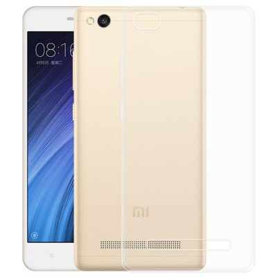 Luanke Transparent TPU Soft Phone Case for Xiaomi Redmi 4ACases &amp; Leather<br>Luanke Transparent TPU Soft Phone Case for Xiaomi Redmi 4A<br><br>Brand: Luanke<br>Compatible Model: Redmi 4A<br>Features: Anti-knock, Back Cover<br>Mainly Compatible with: Xiaomi<br>Material: TPU<br>Package Contents: 1 x Phone Case<br>Package size (L x W x H): 21.00 x 13.00 x 2.00 cm / 8.27 x 5.12 x 0.79 inches<br>Package weight: 0.047 kg<br>Product Size(L x W x H): 14.30 x 7.30 x 1.00 cm / 5.63 x 2.87 x 0.39 inches<br>Product weight: 0.013 kg<br>Style: Transparent