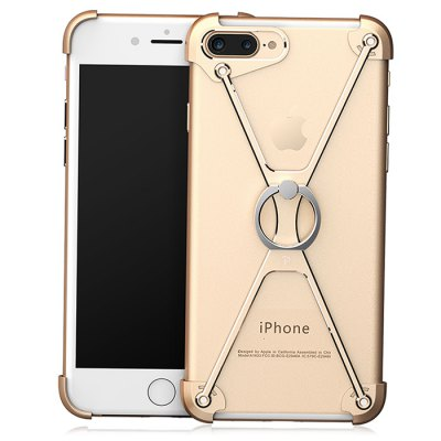 OATSBASF Ring Holder Metal Frame Phone Protector for iPhone 7 Plus