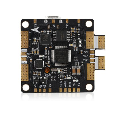 HGLRC F3 V3.1 PRO Flight ControllerMulti Rotor Parts<br>HGLRC F3 V3.1 PRO Flight Controller<br><br>Brand: HGLRC<br>Package Contents: 1 x Flight Controller, 1 x 4-pin Cable, 1 x 5-pin Cable, 1 x 8-pin Cable, 4 x M3 Column, 4 x M3 Screw, 4 x M3 Nut, 1 x Capacitor<br>Package size (L x W x H): 15.00 x 18.00 x 1.60 cm / 5.91 x 7.09 x 0.63 inches<br>Package weight: 0.0450 kg<br>Product size (L x W x H): 4.10 x 3.60 x 0.60 cm / 1.61 x 1.42 x 0.24 inches<br>Product weight: 0.0180 kg<br>Type: Flight Controller
