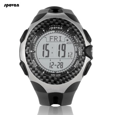 Spovan Mingo Outdoor Sports Climbing Mountaineering Watch