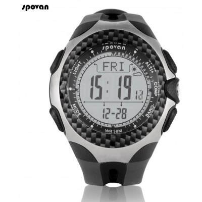Spovan Mingo Outdoor Sports Climbing Mountaineering Watch Multi - function Thermometer Altimeter Barometer Compass Watches