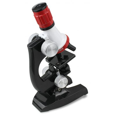 Plastic Biological Microscope Puzzling Educational Toy