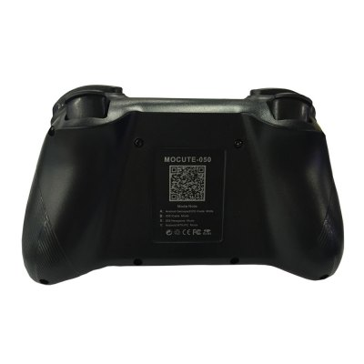 MOCUTE - 050 Bluetooth GamepadGame Controllers<br>MOCUTE - 050 Bluetooth Gamepad<br><br>Battery Type: Built-in<br>Battery Voltage: 3.7V<br>Bluetooth Version: V3.0<br>Capacity: 400mAh<br>Charge way: USB Charge<br>Charging Time: 2 - 3 hours<br>Compatible with: Android TV, Smartphone, Android TV Box, Android<br>Connection Type: Bluetooth<br>Functions: Bluetooth<br>Model: MOCUTE-050<br>Package Contents: 1 x MOCUTE-050 Gamepad, 1 x English / Chinese User Manual<br>Package size: 18.50 x 12.50 x 8.00 cm / 7.28 x 4.92 x 3.15 inches<br>Package weight: 0.2680 kg<br>Product size: 14.00 x 8.50 x 3.50 cm / 5.51 x 3.35 x 1.38 inches<br>Product weight: 0.1330 kg<br>System support: Android<br>Working Time: About 40 hours