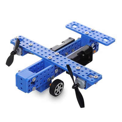 PXWG Plastic Fighter Style Electric Energy DIY 3D Puzzle