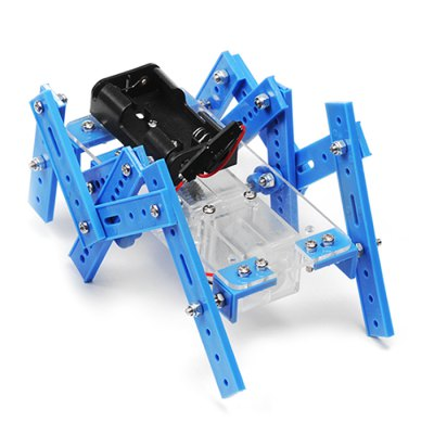 PXWG DIY Plastic 3D Puzzle Robot Style Toy