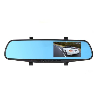 RM-LC2010 1080P FHD 30W Pixel Car Rearview Camera Monitor DVRCar DVR<br>RM-LC2010 1080P FHD 30W Pixel Car Rearview Camera Monitor DVR<br><br>Model: RM-LC2010<br>Type: Full HD Dashcam<br>Chipset Name: Generalplus<br>Chipset: Generalplus 2248<br>Image Sensor: CMOS<br>Max External Card Supported: TF 32G (not included)<br>Class Rating Requirements: Class 10 or Above<br>Screen size: 4.3inch<br>Screen type: TFT<br>Battery Type: Built-in<br>Battery Capacity (mAh?: 450mAh<br>Charge way: Car charger<br>Working Time: 12 minutes<br>Working Voltage: 12V<br>Wide Angle: 170 degree wide angle<br>Camera Lens : 170 degree A+ level lens<br>Lens Size: 170 degree<br>Camera Pixel : 30W<br>Decode Format: H.264<br>Video format: AVI<br>Video Resolution: 1080P (1920 x 1080),720P (1280 x 720)<br>Video Frame Rate: 25fps<br>Image Format : JPEG<br>Audio System: Built-in microphone/speacker (AAC)<br>Exposure Compensation: +1,+2,+3,-1,-2,-3,0<br>Waterproof: No<br>Waterproof Rating : 0<br>Loop-cycle Recording : Yes<br>Loop-cycle Recording Time: 2min,3min,5min,OFF<br>Motion Detection: Yes<br>Motion Detection Distance: 1.5m<br>Night vision : No<br>Night Vision Distance: 0<br>GPS: No<br>G-sensor: No<br>USB Function: PC-Camera<br>Delay Shutdown : Yes<br>Time Stamp: Yes<br>Interface Type: Micro USB,TF Card Slot<br>Anti-shake: No<br>Language: English,Simplified Chinese,Traditional Chinese<br>Parking Monitoring: Yes<br>Frequency: 50Hz,60Hz<br>Operating Temp.: -10 - 60 centigrade degree<br>Operating RH  : 15 - 65 percent<br>Power Cable Length: 3.4m<br>Package weight: 0.7900 kg<br>Product size (L x W x H): 34.00 x 12.00 x 6.50 cm / 13.39 x 4.72 x 2.56 inches<br>Package size (L x W x H): 38.00 x 16.00 x 10.00 cm / 14.96 x 6.3 x 3.94 inches<br>Package Contents: 1 x Car Rearview Mirror DVR, 1 x Rearview Camera, 1 x Camera Cable, 1 x Car Charger, 1 x Installation Kit