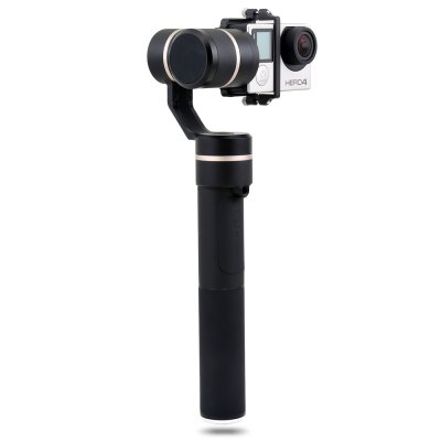 FY FEIYUTECH G5 3-axis Handheld GimbalFPV System<br>FY FEIYUTECH G5 3-axis Handheld Gimbal<br><br>Brand: FY FEIYUTECH<br>Camera Gimbals: Brushless Gimbals<br>Compatible Camera: GoPro HERO5 / HERO4 / HERO3+ / HERO3,  Yi 4K,  AEE etc.<br>FPV Equipments: Gimbal<br>Package Contents: 1 x Gimbal, 1 x ICR 22650 3.7V 3000mAh Lithium-ion Battery, 1 x G5-GoPro Camera Charging Cable, 1 x USB Cable, 2 x Counterweight, 2 x Long Screw, 1 x Carrying Bag, 1 x English Manual<br>Package size (L x W x H): 33.70 x 19.00 x 5.00 cm / 13.27 x 7.48 x 1.97 inches<br>Package weight: 1.130 kg<br>Product size (L x W x H): 32.50 x 18.00 x 4.00 cm / 12.8 x 7.09 x 1.57 inches<br>Product weight: 0.271 kg<br>Waterproof / Water-Resistant: Yes