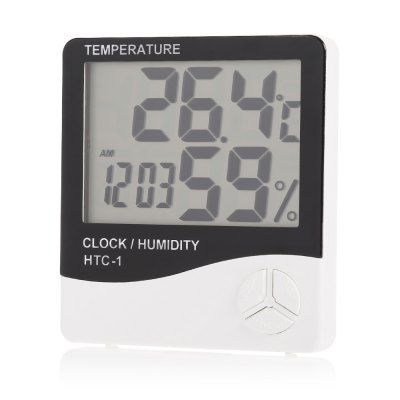 HTC - 1 Digital Electronic Thermometer Hygrometer