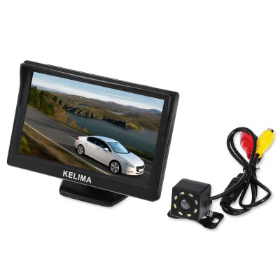 KELIMA 5 inch Rearview Display Mirror with Camera