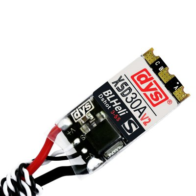 dys XSD30A V2 Solder Version BLHeli - S 30A Brushless ESC