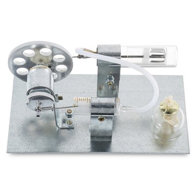 Steam engine toy kit for inspiring kid science spirit...