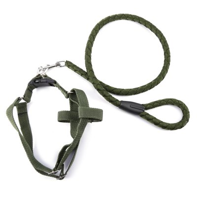 Pet Dog Halter Harness Traction RopeCat Collars &amp; Leads<br>Pet Dog Halter Harness Traction Rope<br><br>For: Dogs<br>Functions: Waterproof<br>Material: Nylon<br>Package Contents: 1 x Dog Traction Rope<br>Package size (L x W x H): 28.00 x 19.00 x 9.00 cm / 11.02 x 7.48 x 3.54 inches<br>Package weight: 0.263 kg<br>Product size (L x W x H): 150.00 x 13.00 x 7.00 cm / 59.06 x 5.12 x 2.76 inches<br>Product weight: 0.232 kg<br>Season: All seasons<br>Type: Leashes