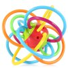 Baby Hand Shake Bell Ring Rattle Teether Intelligent Toy