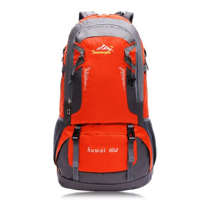 HUWAIJIANFENG 8610 BackpackBackpacks<br>HUWAIJIANFENG 8610 Backpack<br><br>Bag Capacity: 60L<br>Brand: HUWAIJIANFENG<br>Capacity: Above 40L<br>Features: molle system, Tactical Style, Water Resistance<br>For: Climbing, Hiking, Camping<br>Package Contents: 1 x HUWAIJIANFENG 8610 Backpack<br>Package size (L x W x H): 38.00 x 10.00 x 55.00 cm / 14.96 x 3.94 x 21.65 inches<br>Package weight: 1.140 kg<br>Product size (L x W x H): 37.00 x 21.00 x 61.00 cm / 14.57 x 8.27 x 24.02 inches<br>Product weight: 1.000 kg<br>Strap Length: 50 - 95cm<br>Type: Backpack