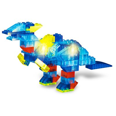 6 in 1 Animal Style ABS Cartoon Building Brick - 132pcs