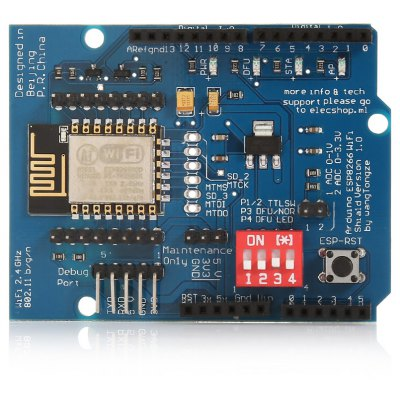 UNO R3 ESP8266 Serial WiFi Shield Extend Board for Arduino