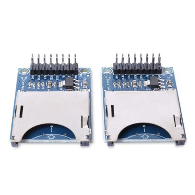 2PCS SD Card Slot Reading Writing Module for Arduino