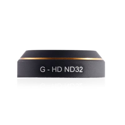 G - HD ND32 Camera Lens Neutral Density FilterRC Quadcopter Parts<br>G - HD ND32 Camera Lens Neutral Density Filter<br><br>Compatible with: DJI Mavic Pro Camera<br>Package Contents: 1 x Lens Filter<br>Package size (L x W x H): 6.60 x 6.60 x 1.80 cm / 2.6 x 2.6 x 0.71 inches<br>Package weight: 0.046 kg<br>Product size (L x W x H): 2.10 x 2.10 x 0.60 cm / 0.83 x 0.83 x 0.24 inches<br>Product weight: 0.002 kg<br>Type: Lens Filter