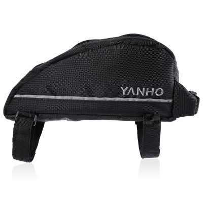 YANHO YA087 Cycling BagBike Bags<br>YANHO YA087 Cycling Bag<br><br>Brand: Yanho<br>Color: Black,Orange<br>Emplacement: Front Tube,Handlebar<br>For: Unisex<br>Model Number: YA087<br>Package Contents: 1 x YANHO Cycling Bag<br>Package Dimension: 22.00 x 10.00 x 7.00 cm / 8.66 x 3.94 x 2.76 inches<br>Package weight: 0.132 kg<br>Product Dimension: 21.00 x 9.00 x 6.00 cm / 8.27 x 3.54 x 2.36 inches<br>Product weight: 0.096 kg<br>Suitable for: Touring Bicycle, Fixed Gear Bicycle, Cross-Country Cycling, Road Bike, Mountain Bicycle
