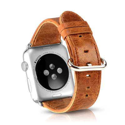 OATSBASF Crazy Horse WatchbandApple Watch Bands<br>OATSBASF Crazy Horse Watchband<br><br>Brand: OATSBASF<br>Color: Deep Brown,Light Brown<br>Function: for Apple Watch 42mm, for Apple Watch 42mm<br>Material: Genuine Leather, TPU, Stainless Steel, Tempered Glass<br>Package Contents: 1 x Watchband, 1 x Screen Film, 1 x Protective Case, 1 x Dust Remover, 1 x Wet Wipes, 1 x Dry Wipes, 1 x Watchband, 1 x Screen Film, 1 x Protective Case, 1 x Dust Remover, 1 x Wet Wipes, 1 x Dry Wipes<br>Package size: 19.20 x 12.00 x 3.20 cm / 7.56 x 4.72 x 1.26 inches, 19.20 x 12.00 x 3.20 cm / 7.56 x 4.72 x 1.26 inches<br>Package weight: 0.1300 kg, 0.1300 kg<br>Product weight: 0.0160 kg, 0.0160 kg