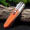 Ganzo G743-1-OR Frame Lock Folding Knife photo