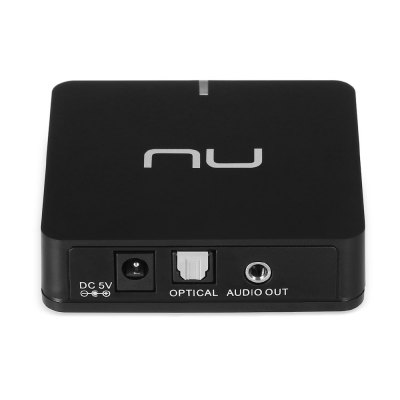 Nuforce BTR - 100 USB Bluetooth Audio ReceiverHeadphone Accessories<br>Nuforce BTR - 100 USB Bluetooth Audio Receiver<br><br>Brand: Nuforce<br>Color: Black<br>Model: BTR-100<br>Package Contents: 1 x Nuforce BTR - 100 Audio Receiver, 1 x Charger, 1 x AV Audio Cable,  1 x 3.5mm Male Audio Cable, 1 x Multilingual Safety Instruction, 1 x English Connecting  Instruction<br>Package size (L x W x H): 18.50 x 10.10 x 6.50 cm / 7.28 x 3.98 x 2.56 inches<br>Package weight: 0.214 kg<br>Product size (L x W x H): 7.60 x 7.00 x 2.10 cm / 2.99 x 2.76 x 0.83 inches<br>Product weight: 0.055 kg