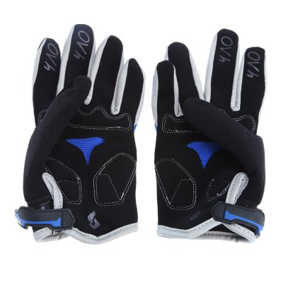 YANHO Cycling GlovesCycling Gloves<br>YANHO Cycling Gloves<br><br>Brand: Yanho<br>Features: Breathable, Shock Absorption, Skid Resistance, Windproof<br>Gender: Unisex<br>Package Contents: 1 x Pair of YANHO Cycling Gloves<br>Package size (L x W x H): 28.00 x 11.00 x 4.00 cm / 11.02 x 4.33 x 1.57 inches<br>Package weight: 0.096 kg<br>Product weight: 0.070 kg<br>Size: One Size<br>Type: Full-finger