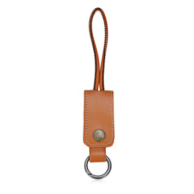Key Chain 8 Pin USB CableiPhone Cables &amp; Adapters<br>Key Chain 8 Pin USB Cable<br><br>Cable Length (cm): 26cm<br>Color: Black,Blue,Brown<br>Interface Type: 8 pin, USB 2.0<br>Material ( Cable&amp;Adapter): Leather<br>Package Contents: 1 x 26cm Key Chain USB Cable<br>Package size (L x W x H): 16.00 x 12.80 x 1.80 cm / 6.3 x 5.04 x 0.71 inches<br>Package weight: 0.043 kg<br>Product size (L x W x H): 13.00 x 3.20 x 0.80 cm / 5.12 x 1.26 x 0.31 inches<br>Product weight: 0.021 kg<br>Type: Cable