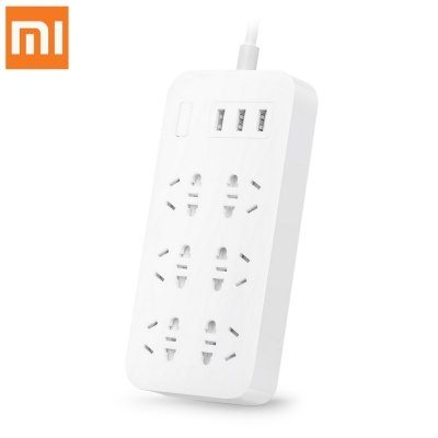 Original Xiaomi CXB6 - 1QM 6-outlet Power Strip