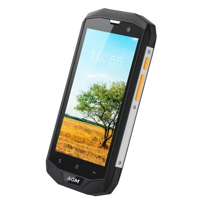 AGM A8 4G SmartphoneCell phones<br>AGM A8 4G Smartphone<br><br>2G: GSM 850/900/1800/1900MHz<br>3G: WCDMA 850/900/1900/2100MHz<br>4G: FDD-LTE 800/1800/2100/2600MHz<br>Additional Features: Calculator, Browser, Bluetooth, Alarm, 4G, 3G, Calendar, Wi-Fi, Camera, Waterproof, Sound Recorder, People, MP4, MP3, GPS<br>Auto Focus: Yes<br>Back-camera: 13.0MP<br>Battery Capacity (mAh): 4050mAh Built-in<br>Bluetooth Version: V4.0<br>Brand: AGM<br>Camera type: Dual cameras (one front one back)<br>Cell Phone: 1<br>Cores: Quad Core, 1.2GHz<br>CPU: MSM8916<br>Dustproof: Yes<br>E-book format: TXT<br>English Manual : 1<br>External Memory: TF card up to 32GB (not included)<br>Front camera: 2.0MP<br>I/O Interface: 3.5mm Audio Out Port, 2 x Nano SIM Slot, TF/Micro SD Card Slot, Micophone, Micro USB Slot, Speaker<br>IP rating: IP68<br>Language: Spanish, Filipino, French, Croatian, Zulu, Italian, Kiswahili, Magyar, Dutch, Polish, Portuguese, Lithuanian<br>Music format: AAC, WAV, MP3, AMR<br>Network type: GSM+WCDMA+FDD-LTE<br>OS: Android 7.0<br>Package size: 18.20 x 10.60 x 6.80 cm / 7.17 x 4.17 x 2.68 inches<br>Package weight: 0.5160 kg<br>Picture format: BMP, GIF, JPEG, PNG<br>Power Adapter: 1<br>Product size: 15.90 x 8.30 x 1.60 cm / 6.26 x 3.27 x 0.63 inches<br>Product weight: 0.2470 kg<br>RAM: 4GB RAM<br>ROM: 64GB<br>Screen resolution: 1280 x 720 (HD 720)<br>Screen size: 5.0 inch<br>Screen type: Corning Gorilla Glass<br>Screwdriver: 1<br>Sensor: Ambient Light Sensor,Geomagnetic Sensor,Gravity Sensor,Proximity Sensor<br>Service Provider: Unlocked<br>SIM Card Slot: Dual SIM, Dual Standby<br>SIM Card Type: Dual Nano SIM<br>Sound Recorder: Yes<br>Touch Focus: Yes<br>Type: 4G Smartphone<br>USB Cable: 1<br>Video format: AVI, 3GP, MP4<br>Waterproof: Yes<br>WIFI: 802.11b/g/n wireless internet<br>Wireless Connectivity: Bluetooth 4.0, LTE, GSM, 3G, 4G, GPS, A-GPS, WiFi