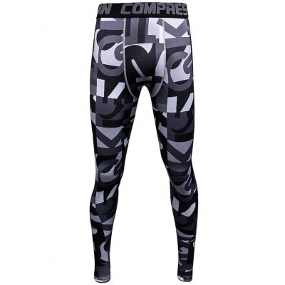 Male Letter Camouflage Print Compression Long Training PantsWeight Lifting Clothes<br>Male Letter Camouflage Print Compression Long Training Pants<br><br>Features: Breathable, High elasticity, Quick Dry<br>Gender: Men<br>Material: Polyester<br>Package Content: 1 x Pants<br>Package size: 30.00 x 25.00 x 2.00 cm / 11.81 x 9.84 x 0.79 inches<br>Package weight: 0.220 kg<br>Product weight: 0.160 kg<br>Size: 2XL,3XL,L,M,XL<br>Types: Pants