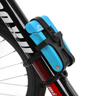 INBIKE Bike Folding LockBike Bells and Locks<br>INBIKE Bike Folding Lock<br><br>Brand: INBIKE<br>Package Contents: 1 x INBIKE Folding Lock, 3 x Key, 1 x Holder, 2 x Belt, 4 x Screw<br>Package size (L x W x H): 21.50 x 10.50 x 6.00 cm / 8.46 x 4.13 x 2.36 inches<br>Package weight: 0.780 kg<br>Product size (L x W x H): 13.00 x 6.00 x 2.80 cm / 5.12 x 2.36 x 1.1 inches<br>Product weight: 0.705 kg<br>Type: Key lock